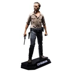Walking Dead Rick Grimes  7-Inch Color Tops Red Wave