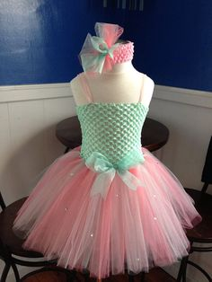 Pastel Tutu Dress by Arribelle on Etsy, $40.00