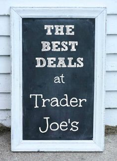 Shopping for great deals on groceries at #Trader #Joe's. Here's a list of my favorite budget-friendly foods. Please repin!