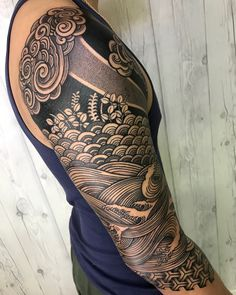 You are in the right place about Tattoo Pattern dotwork Here we offer you the most beautiful pictures about the Tattoo Pattern leg you are looking for. When you examine the part of the picture you can Tattoo Band, Forearm Band Tattoos, Arm Sleeve Tattoos, Japanese Sleeve Tattoos, Tattoo Sleeve Designs, Leg Tattoos, Tribal Tattoos, Tattoos For Guys, Japanese Wave Tattoos