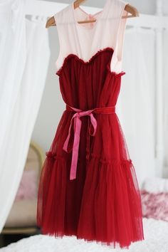 Raspberry Tulle... finally a red hue that does not look trampy.