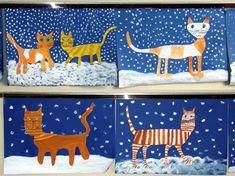 Winter Tree Art for Kids - Fantastic Fun & Learning Winter Art Projects, Projects For Kids, Crafts For Kids, School Images, Story Stones, Art Lessons Elementary, Winter Trees, Winter Snow, Halloween Art