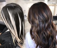 Low Maintenance and Subtle Dimension That POPS Balayage<br> Cynthia M. Valdez ( of Blush at Bishop Arts in Dallas and an educator with The Business of Balayage, shares the details for this lovely upgrade from flat to subtle dimension. Ombre Hair Color, Hair Color Balayage, Balayage Hairstyle, Hair Color For Black Hair, Purple Hair, Winter Hairstyles, Bob Hairstyles, Men's Hairstyle, Modern Hairstyles