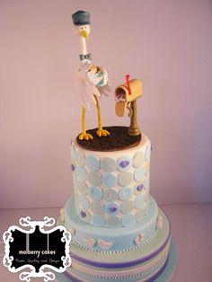 Stork cake - www.malberrycakes.co.za