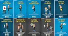 10 consejos de Steve Jobs para #emprendedores ¡Feliz Viernes!