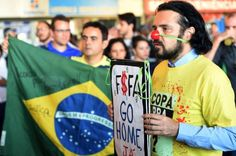 'There will have been no World Cup': The World Cup has become the focal point of Brazilians' anger over corruption, poverty and social injustice