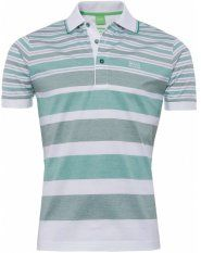 2361691fc Buy a Patrick 2 Stripe Polo Shirt by Hugo Boss Green from Jules B today.