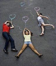 Sidewalk chalk- Great idea for the NoCo Mini Maker Faire!