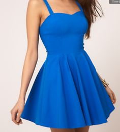 Blue dress for Bella