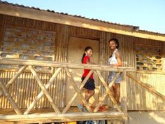 our bamboo house in the philippines and how we made it in 16 days - YouTube