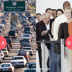 What's more annoying: being stuck in traffic or in line?  Click here to vote @ http://getwishboneapp.com/share/794378