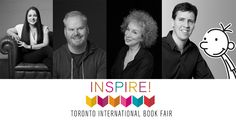 """The Toronto International Book Fair Anne Rice, Kathy Reichs, Jim Gaffigan, Lev Grossman, Sandra Brown, Kelley Armstrong and dozens more. """"More than 300 hours of programming and 400 Canadian and international authors in eight feature areas over three-and-a-half days of the fair."""""""