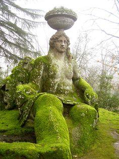 Mossy Bomarzo Monster Park - North Lazio, Italy