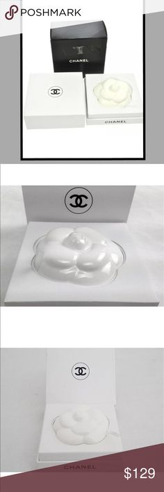 AUTHENTIC VINTAGE CHANEL CAMELLIA PAPERWEIGHT GREAT 🎁 GIFT FOR THE WOMEN AT THE OFFICE. JUST BEAUTIFUL!!! CHANEL Jewelry