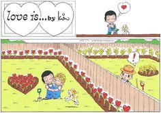 Love is...Sunday 15 May 2016 | Bill Asprey Cartoons & Comic Strips