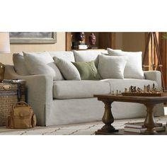 Brynn Classic Cream Slipcover Sofa