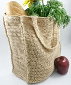 WC1642 Paperless Grocery Bag      Skill Level: Easy  Designed by Joan Barnett