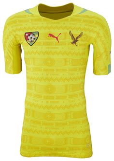 Togo (Fédération Togolaise de Football) - 2014/2015 Puma Home Shirt