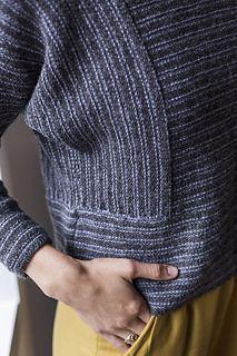 5f19c82b2135d Ravelry  Tawney Sweater pattern by Jenni Barrett Knitting Patterns