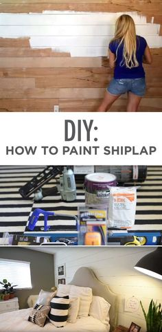 @robesondesign  is here to help you tackle a stunning makeover trend: shiplap! Check out this how-to guide on painting shiplap for your next weekend project.
