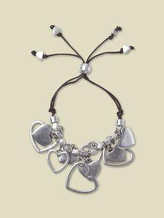 Friendship bracelets make me happy. Corin Jangle Bracelet by White Stuff. #makesmehappy @White Stuff UK