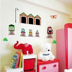 Thomas the tank engine wall stickers decals