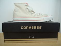Chaussures Converse ALL Star HI 39 Beige Pâle Rose | eBay