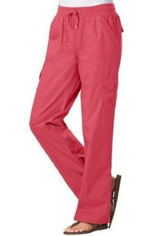67ecab61ba8 Woman Within Plus Size Pants With Convertible Length (Fresh Strawberry