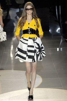 Gucci Spring 2008 Ready-to-Wear Fashion Show - Kasia Struss