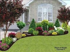 Stunning Front Yard Landscaping Ideas On A Budget 18 #LandscapingIdeas