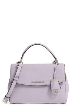 MICHAEL MICHAEL KORS 'Small Ava' Leather Satchel. #michaelmichaelkors #bags #shoulder bags #hand bags #leather #satchel #lining