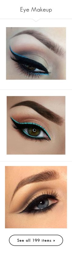 """Eye Makeup"" by mildabas ❤ liked on Polyvore featuring beauty products, makeup, eye makeup, eyes, make, beauty, olho, lip makeup, lipstick and face makeup"