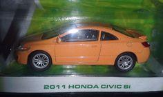 GREENLIGHT 2013 MOTOR WORLD SERIES 10 2011 HONDA CIVIC SI   ADULT COLLECTIBLE #Greenlight #Honda