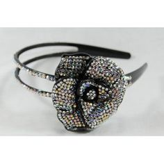 Irodenscent Flower Rhinestone Headband, Perfect for Women, Teens & Girls, Bling Bling Hair Accessory