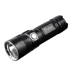 Portable Lighting United Jiguoor Wt518 Xm-l T6 1000lumens 3modes Black Zoomable Led Flash Light Portable Lighting Clicky Flashlights & Torches