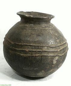 Igbo ritual ceramic vessel. Nigeria