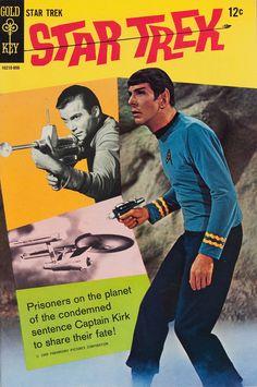 Star Trek Gold Key Comic Book, June 1968 #biblioteques_UVEG