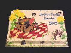 centerpieces for family reunion banquet Family Reunion Cakes, Family Reunion Decorations, Family Reunions, Family Gatherings, Family Picnic, Family Game Night, Big Family, Cake Decorating, Decorating Ideas