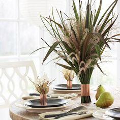 Grass Table Decor
