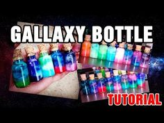 Galaxy Bottle / Nebula Bottle - Tutorial - YouTube