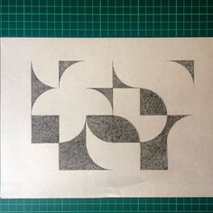 #geometry #abstract #pendrawing #crosshatching #drawing