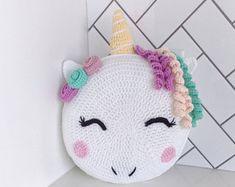 PDF Pattern for Ulyses Unicorn - unicorn pillow - unicorn - crochet Unicorn - unicorn pattern - knit unicorn