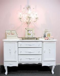 1000 images about peinadores on pinterest vanities - Muebles shabby chic ...