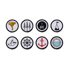 The Creatørs Club • The Sjø & Land badge set