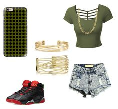 """""""Untitled #17"""" by savannahsernah on Polyvore featuring LE3NO, Jordan Brand, Fremada, Casetify and Stella & Dot"""