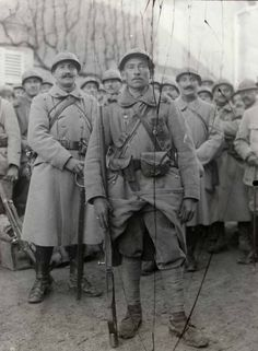 Private Lheureux from 401e infanterie in October 1916.