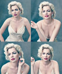 "Marilyn Monroe (Michelle Williams): ""Little girls shouldn't be told how pretty they are. They should grow up knowing how much their mother loves them."" -- from My Week with Marilyn (2011) directed by Simon Curtis"