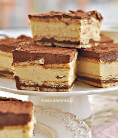 Kinder bueno cake without baking Sweet Recipes, Cake Recipes, Snack Recipes, Dessert Recipes, Lowest Carb Bread Recipe, Easy Smoothie Recipes, Polish Recipes, Vegan Sweets, How Sweet Eats