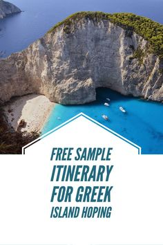 Put Greek Island Hopping to the top of your bucket list!  Check out our sample itinerary that will make you want to pack your bags today.  Need help customizing your trip to Greece? Book your free consultation on our website - www.oleganatravelboutique.com Winter Wedding Destinations, Top Honeymoon Destinations, Destination Weddings, Honeymoon Ideas, Vacation Trips, Vacation Travel, Vacation Ideas, Travel Usa, Best Christmas Vacations