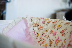Strawberry Chic: Handmade Vintage Baby Blanket DIY